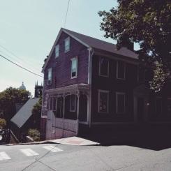 Mrs. Whitman's Home in Providence